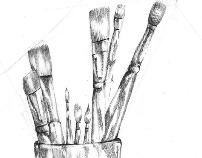 רישומים בעפרון